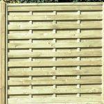 Square Horizontal Fence Panel - 1-8m-510 - 1-20m
