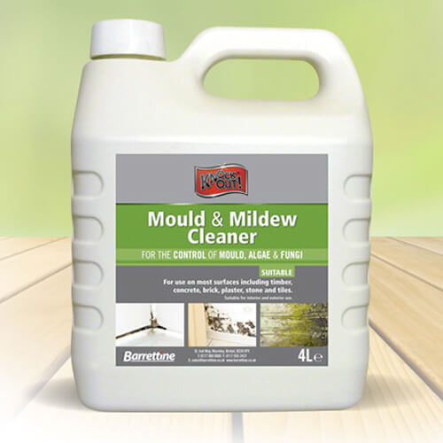 4 Litre container of Mould and Mildew Cleaner